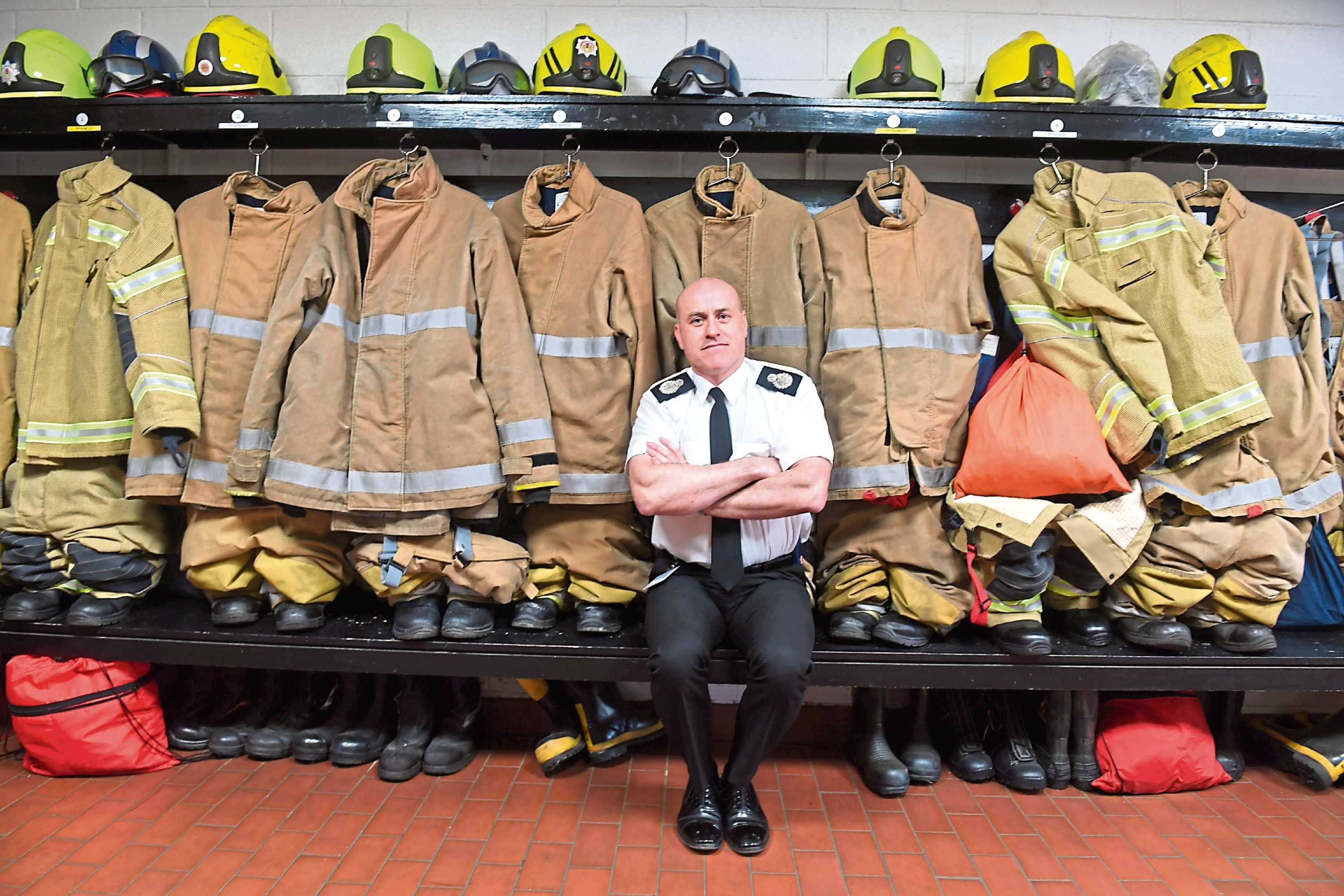 Lewis Ramsay, the director of response and resilience, paid tribute to the work of the fire crews