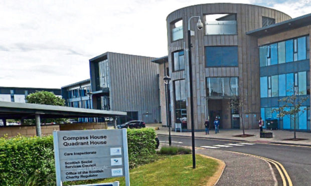 Compass House in Riverside Drive, Dundee