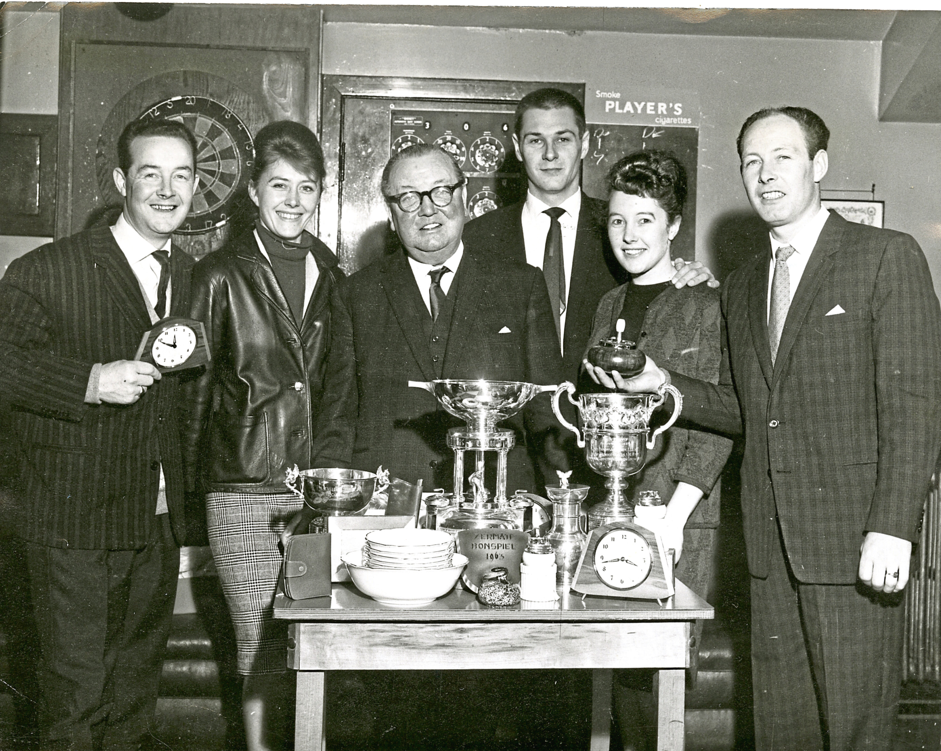 George Grant and members of his family pictured in 1963.