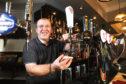 Frank Falconer at the reopened High Corner pub on Kinghorne Road.