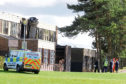 Braeview Academy after the fire.
