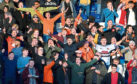 Dundee United fans enjoyed the win at Ross County.
