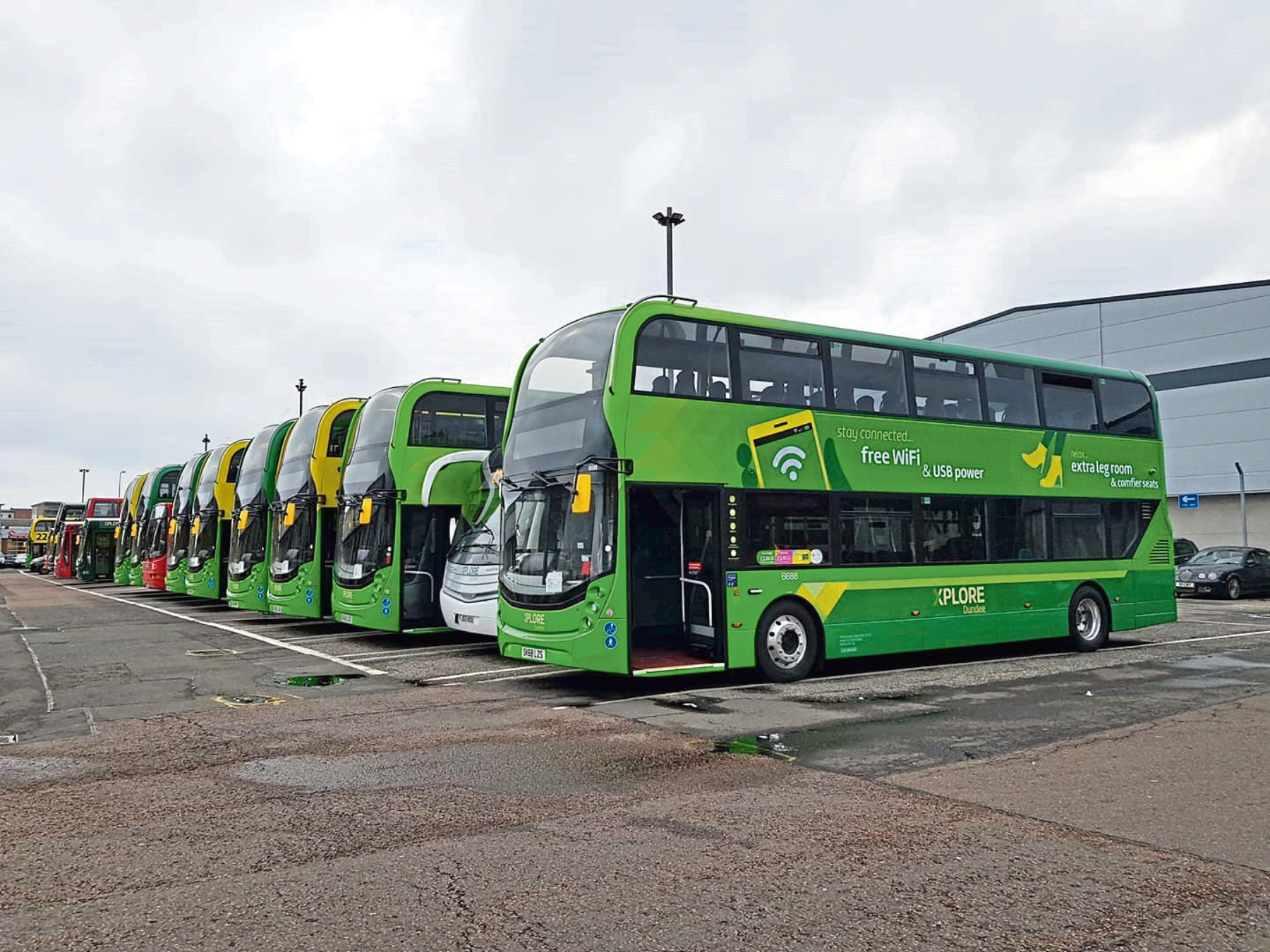 Xplore Dundee is investing in a new fleet of buses