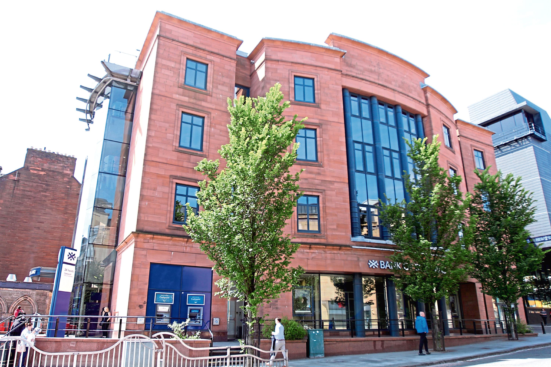 Bank of Scotland in Nethergate