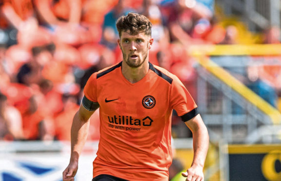 Stewart Murdoch in action for Dundee United