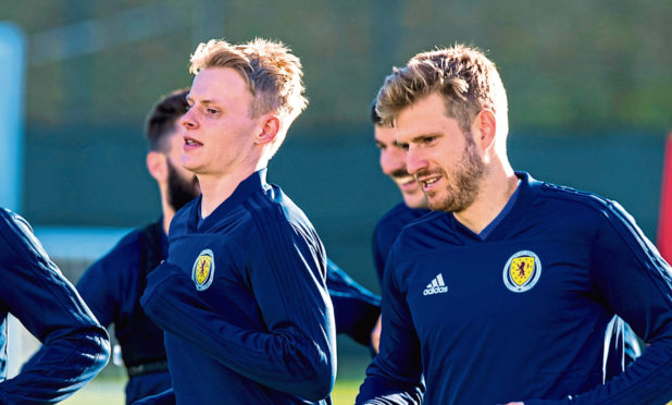 Gary-Mackay Stevens and Stuart Armstrong are in the Scotland squad