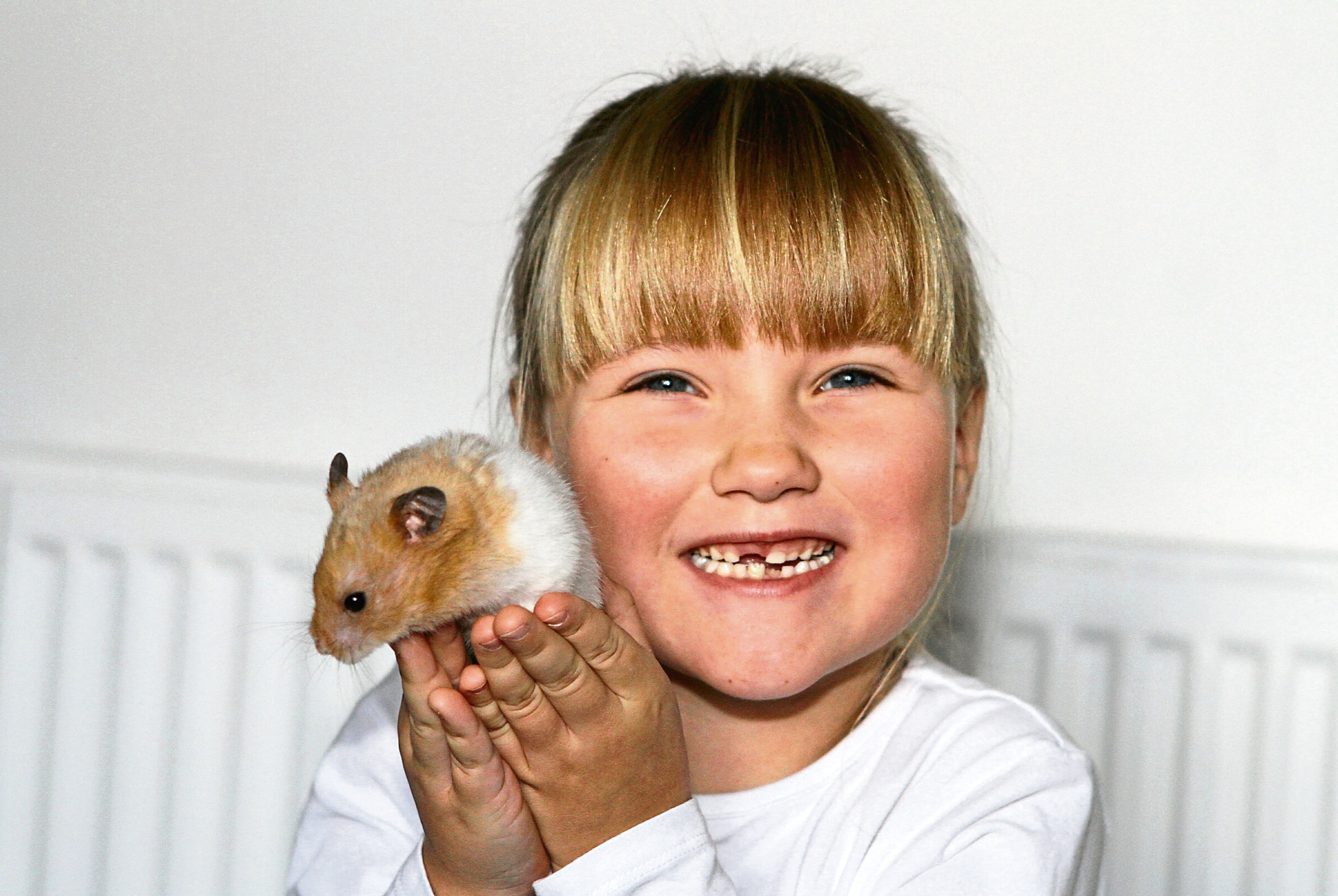 Becca Meldrum is delighted to be reunited with her pet whose two-year vanishing act remains a mystery.