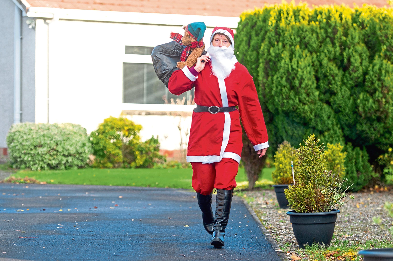 Mum Irene Spence will be taking part in this year's Santa Dash