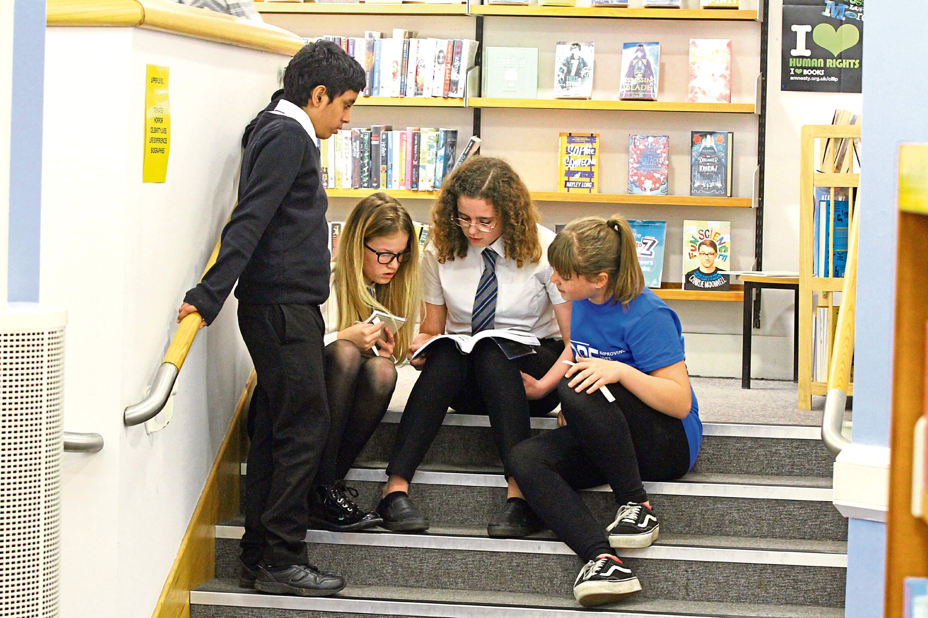 Morgan Academy pupils attempt to Crack the Code,   at the central library
