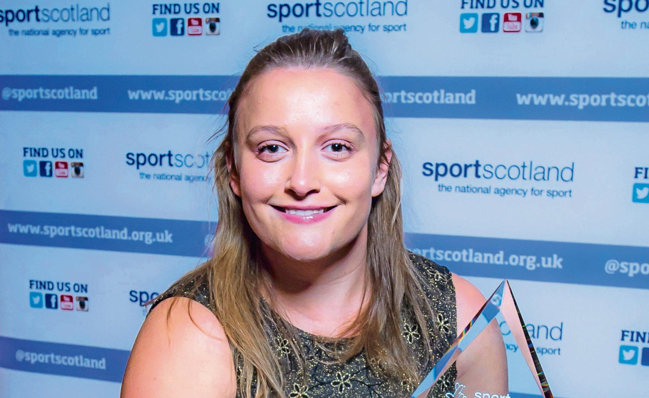 Gemma Lumsdaine Sportscotland coaching awards 2018
