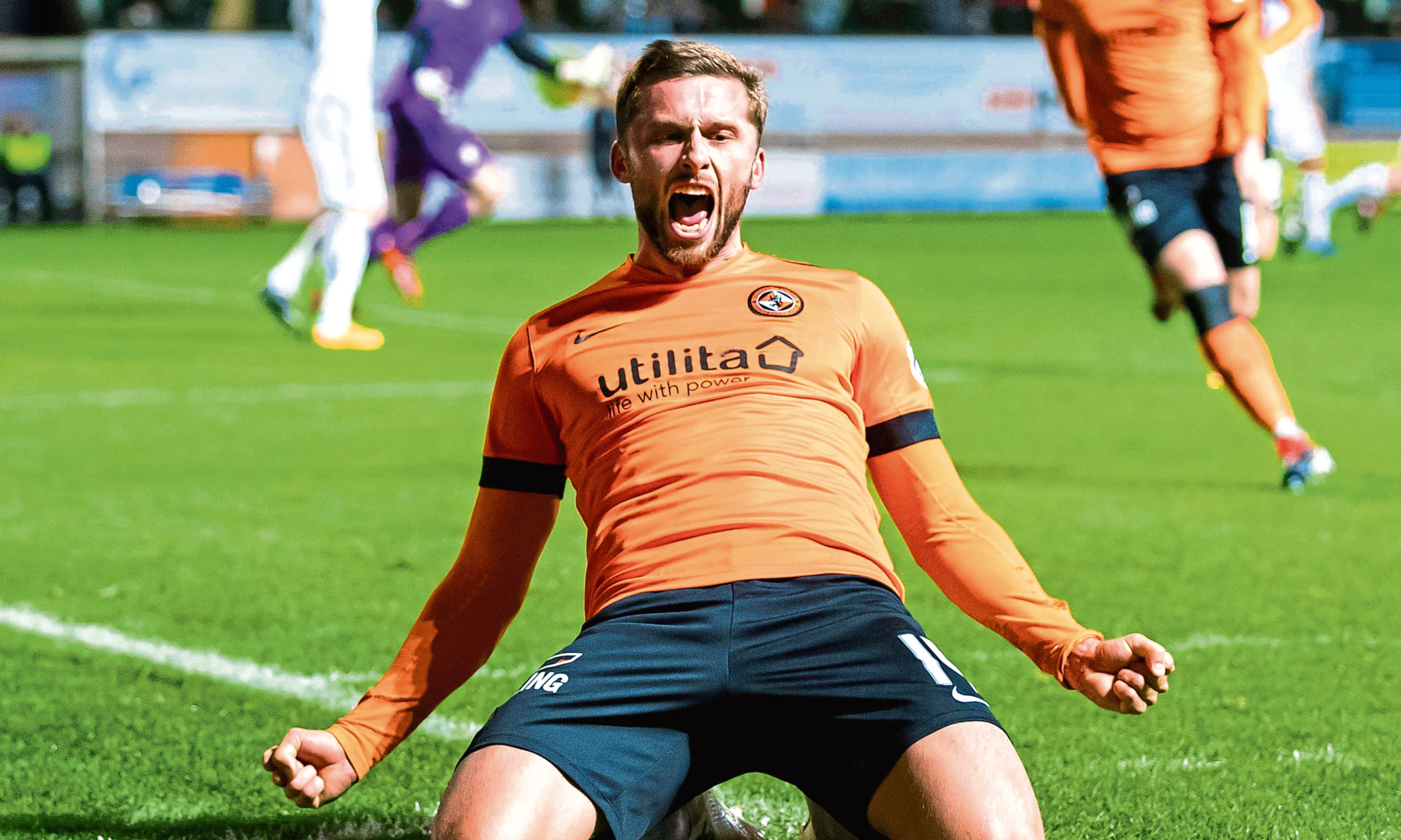 On-loan Slovakian striker Pavol Safranko has been a revelation for Dundee United this season with, not just his goals, but yards covered, too