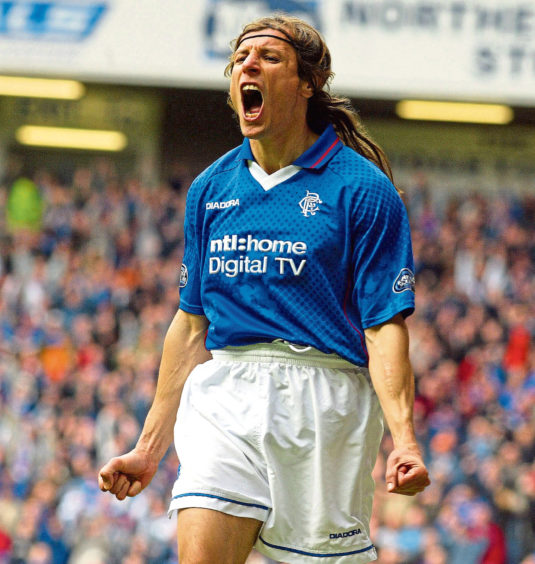 Caniggia eventually joined Rangers