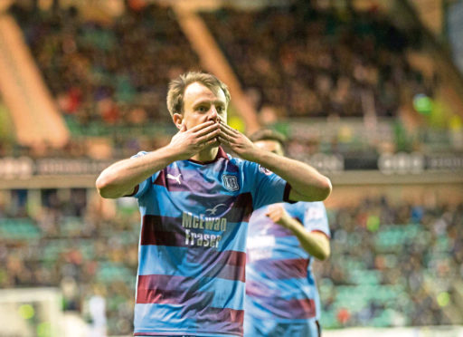 Paul McGowan and his fellow-thirty-somethings were reserved special praise for their roles in Saturday's 2-2 comeback draw at Hibs.