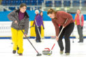 Action from last Tuesday's Ice Topp Sports Ladies Open competition held at Dundee Ice Arena