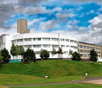 Ninewells Hospital (stock image)