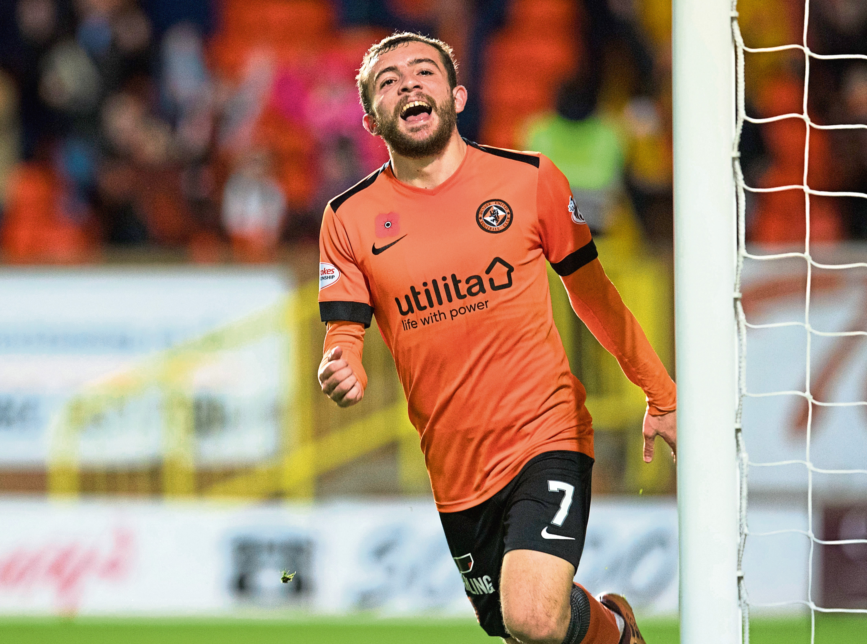 Dundee United attacker Paul McMullan's form has been rejuvenated since Robbie Neilson took over as manager in October.