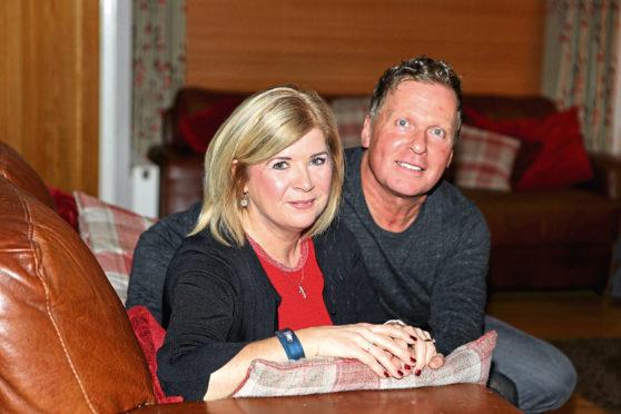 Linda McDonald and husband Matt.