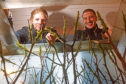 Rowan Woods and James Richmond have opened Scotland's first aquascaping shop in Tayport