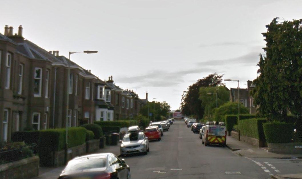 Argyle Street, Dundee (stock image)