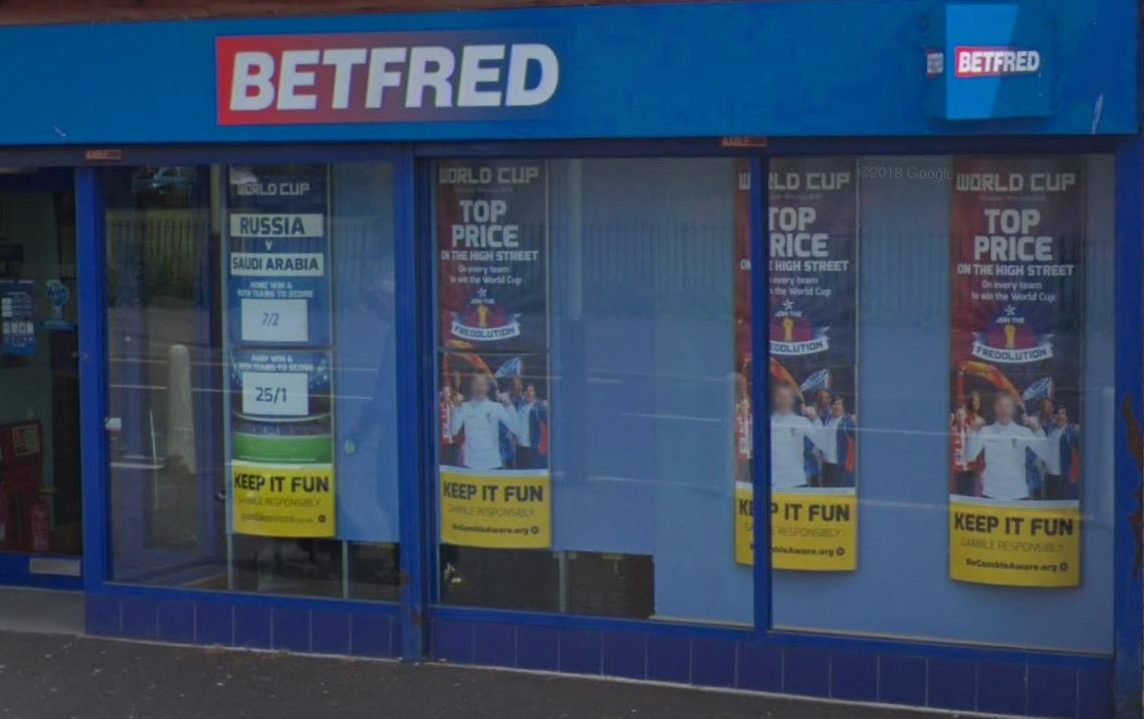 Betfred on Fintry Road, Dundee (stock image)