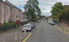 Byron Street close to the junction with Bruce Street, Dundee (stock image)