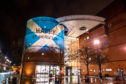 University of Abertay lit up for St Andrew's Day last night