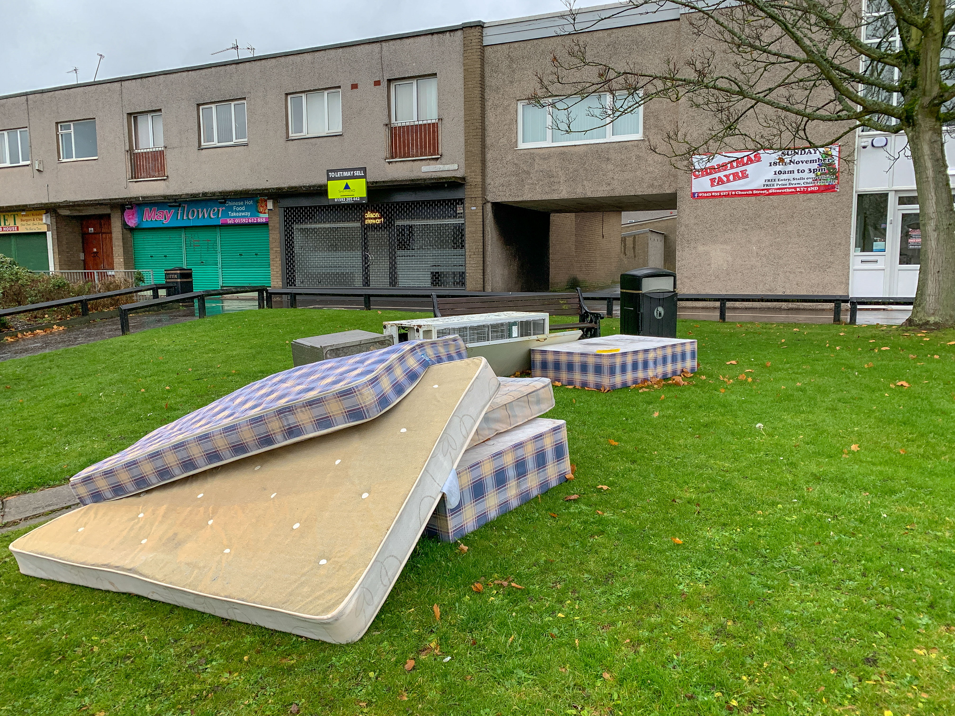 The 'fly-tipped' items that were missed by Fife Council