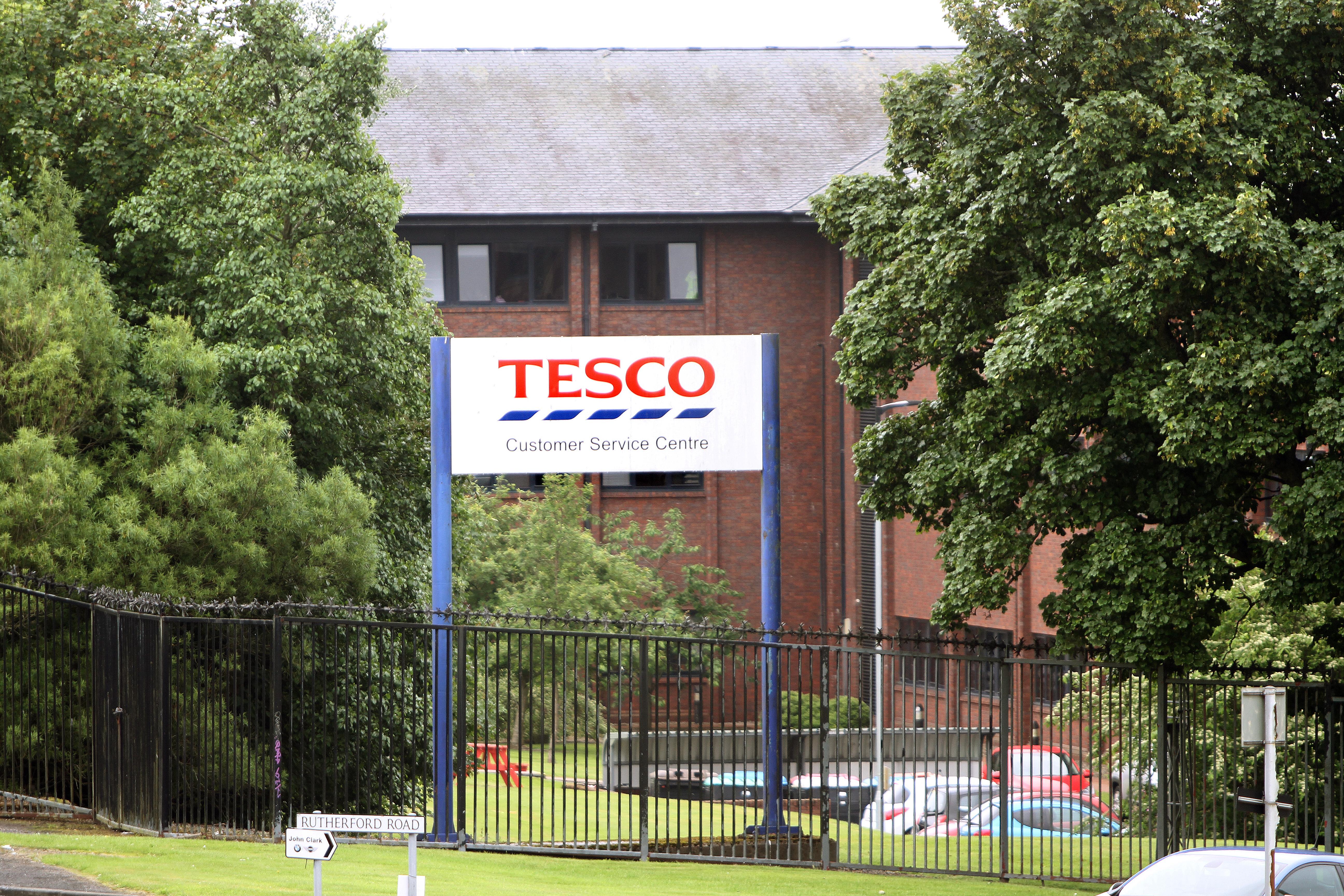 Tesco Customer Service Centre in Baird Avenue, Dundee