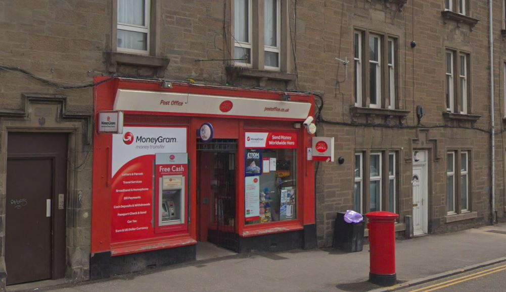 The post office in Albert Street, Dundee