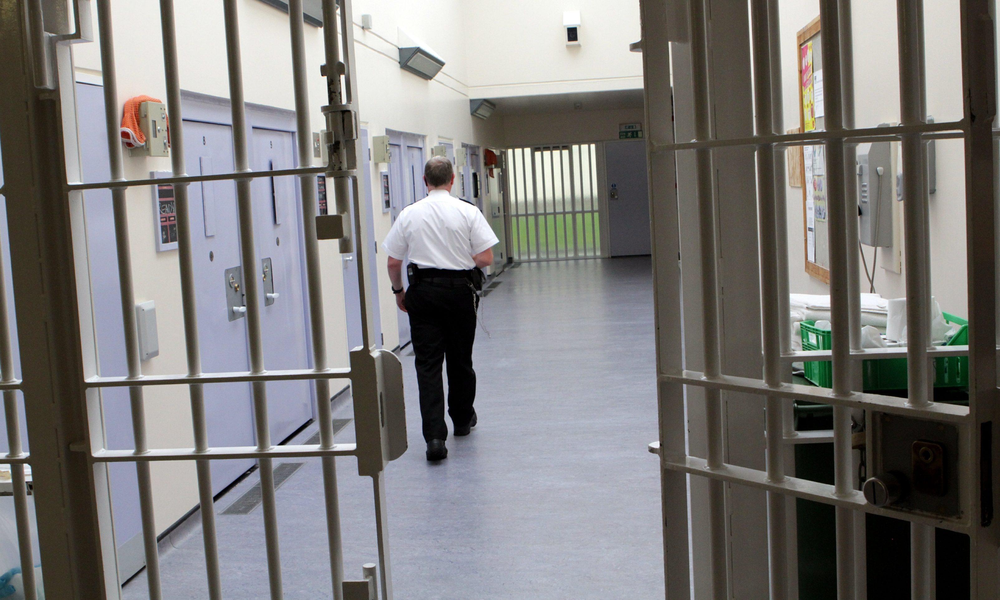The segregation area at Perth Prison.