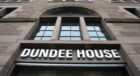 Building exterior of Dundee House, headquarters of Dundee City Council