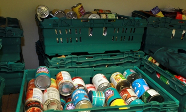 Foodbank supplies. (Stock image)