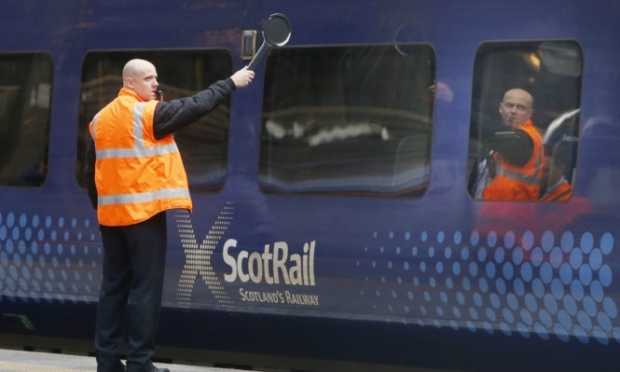 ScotRail will run a reduced service during the Covid-19 crisis.