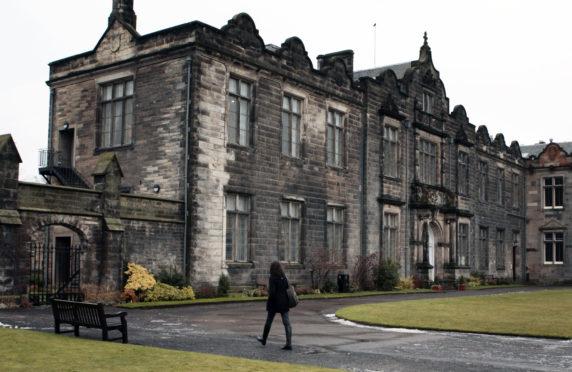 St Salvador's Quad at St Andrews University