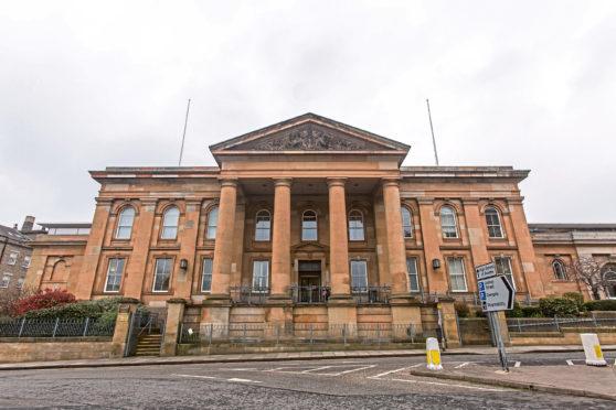 Dundee Sheriff Court (stock image)