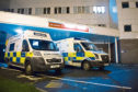 The number of ambulances taking over an hour to transfer patients to Ninewells is on the rise.