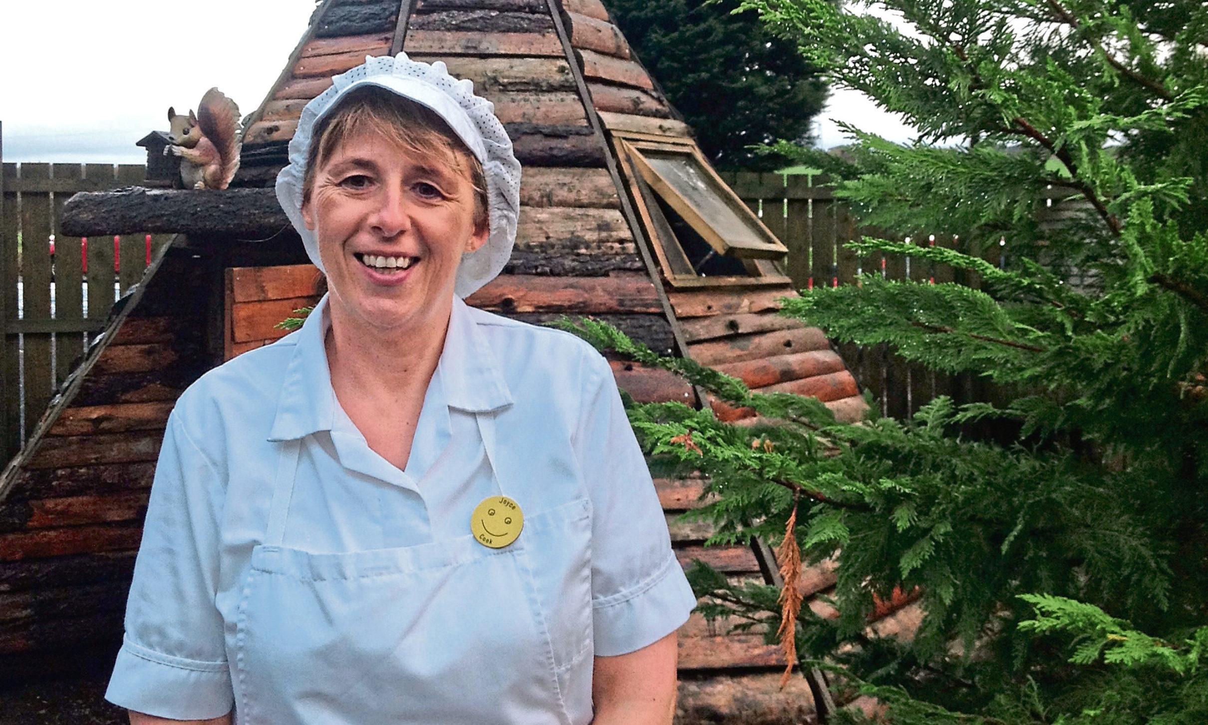 Nursery cook Joyce Welsh