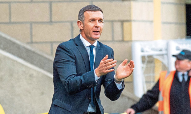 Dundee manager Jim McIntyre is eyeing a first win since taking over