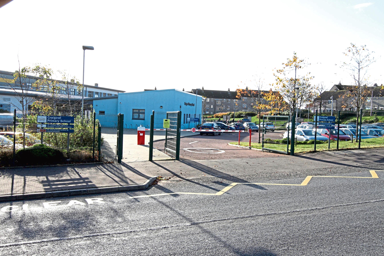 Craigowl Primary School, Dundee (stock image)