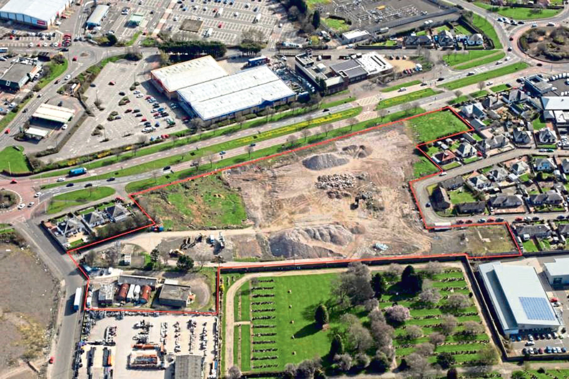 Plans to build housing at the former Stewart's Cream of the Barley site were previously rejected