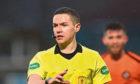 Match referee David Munro