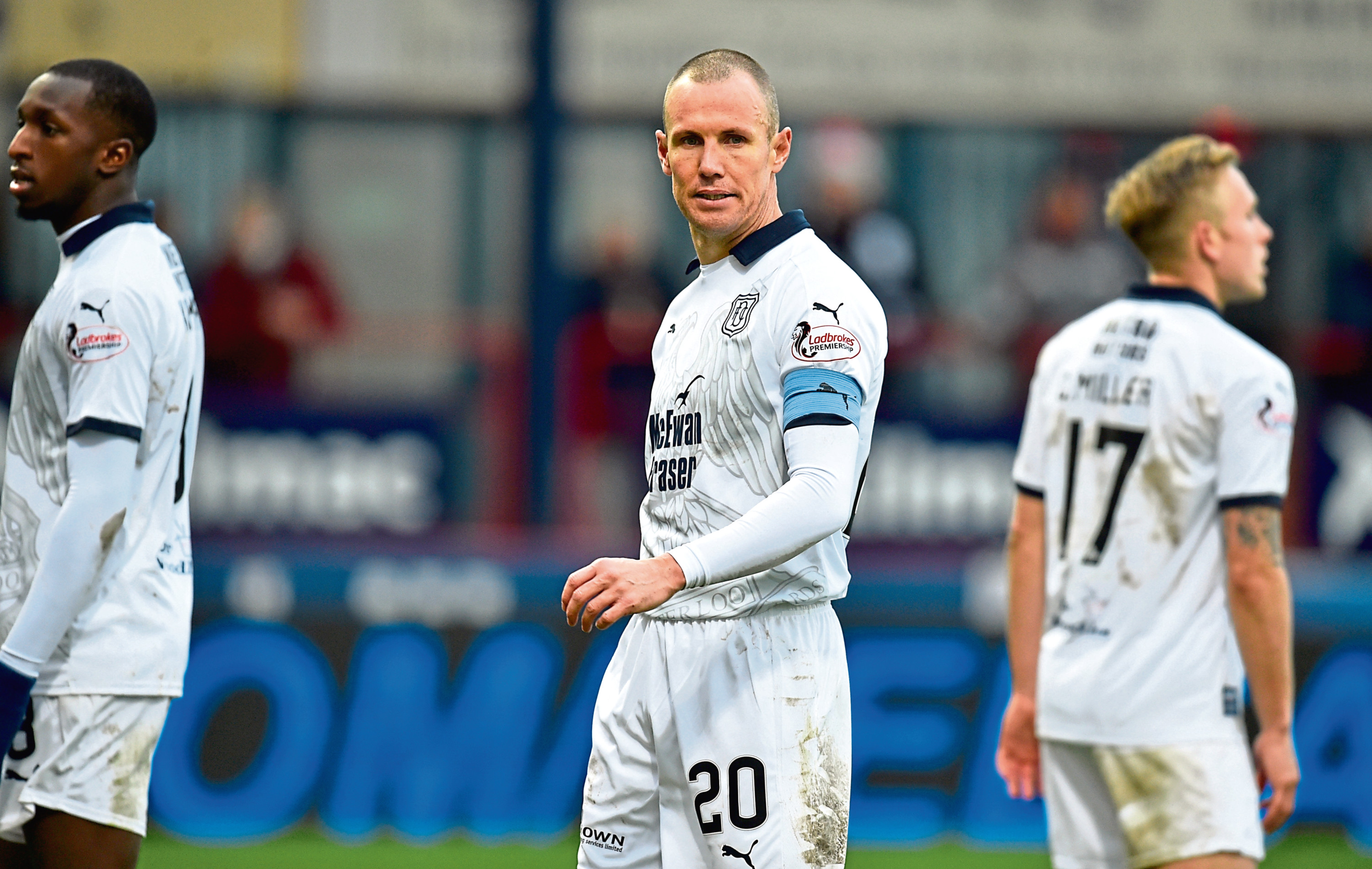Kenny Miller scored eight goals for Dundee.