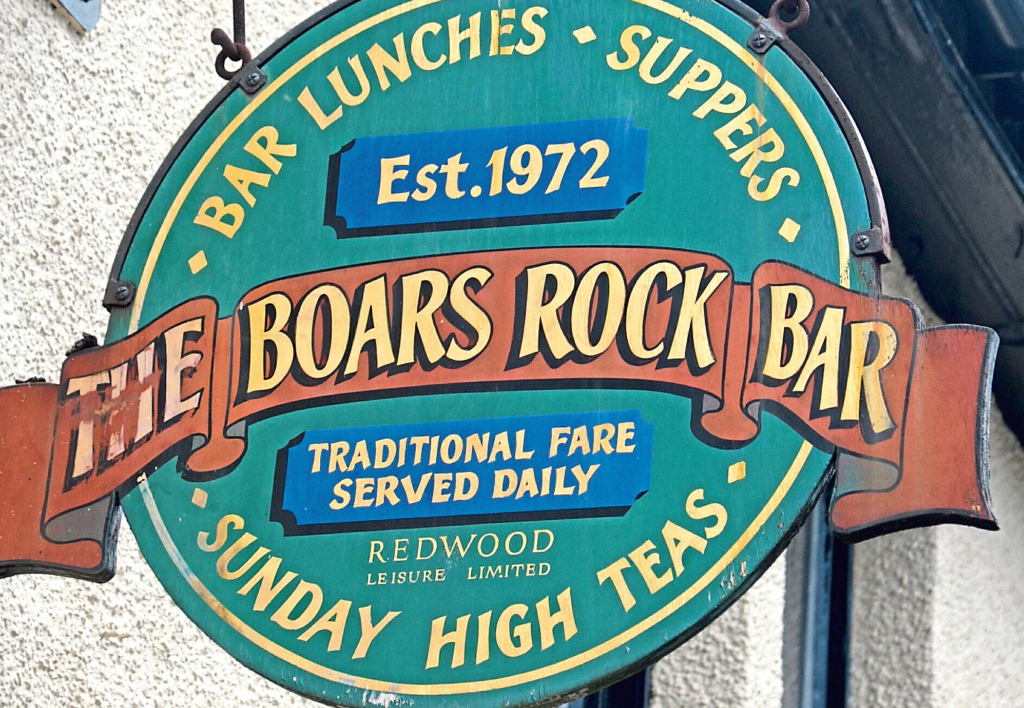 Boars Rock in Arbroath Road, Dundee