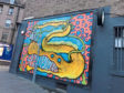 The dragon mural at Brewdog in Perth's George Street