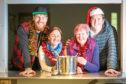 From left: Colin Petrie, Rachel McReady, Barbara MacFarlane and  Dean Banks