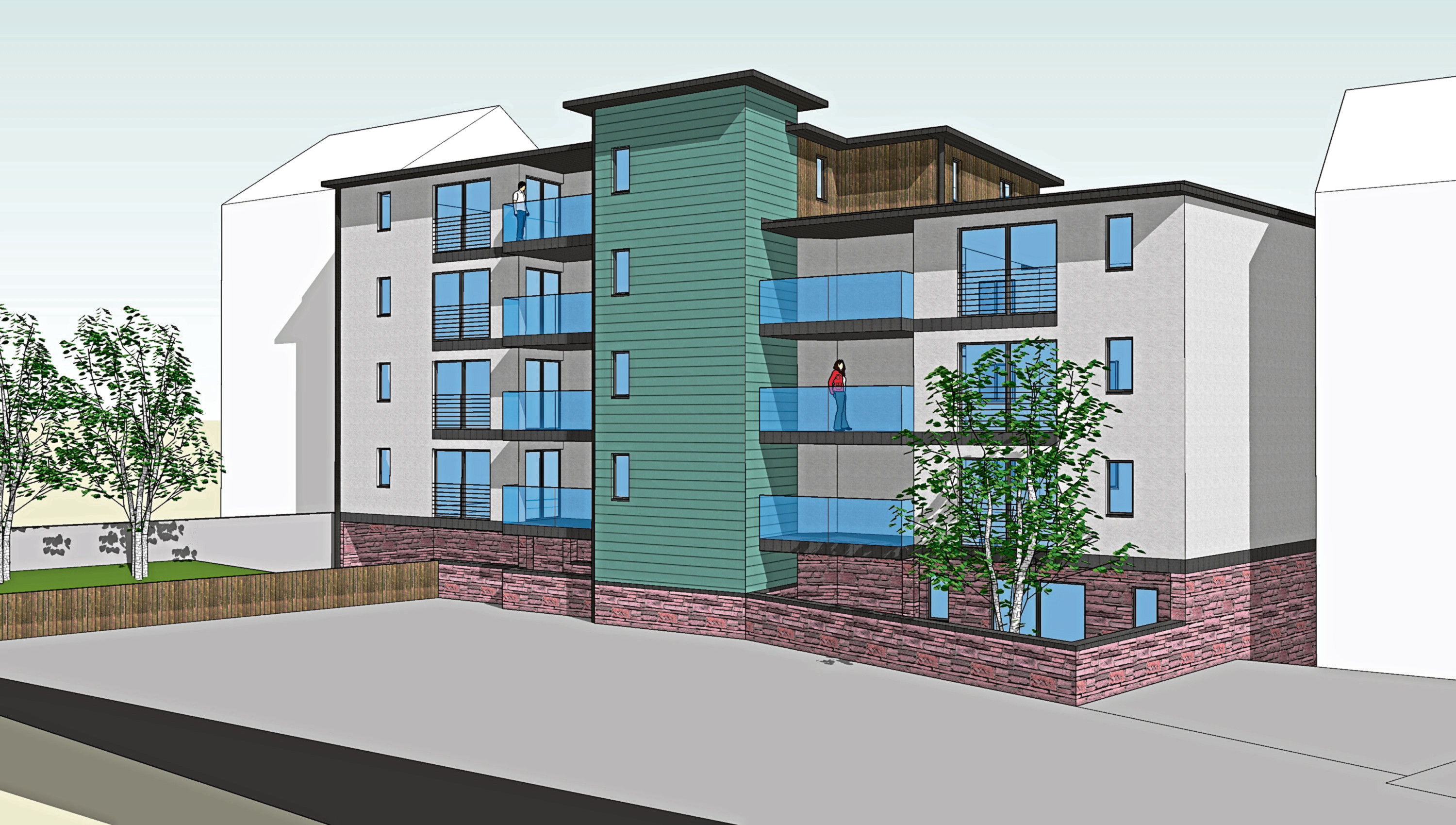 The 'modern tenements' planned for Hilltown