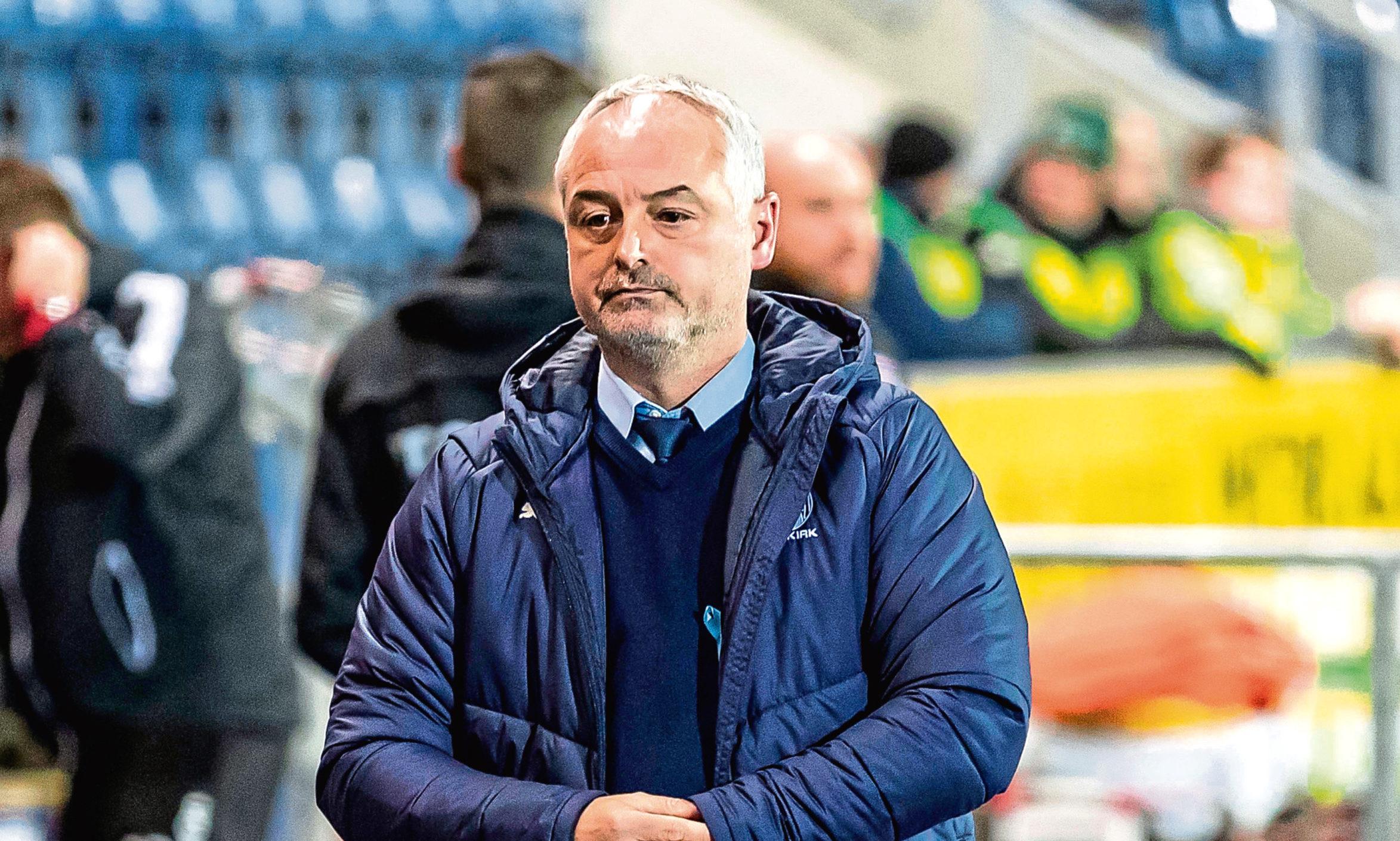 Falkirk manager Ray McKinnon