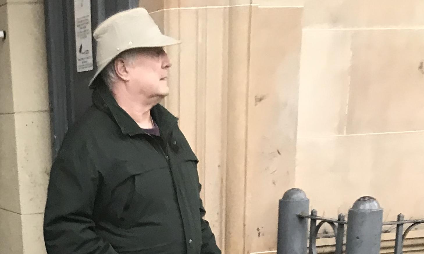 Brian Jacobi leaving court