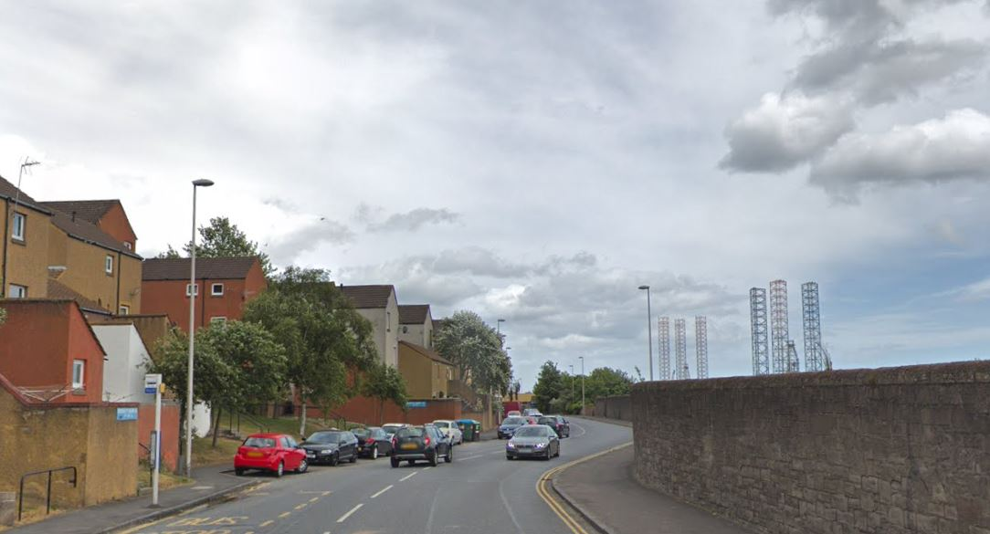 Broughty Ferry Road (stock image)