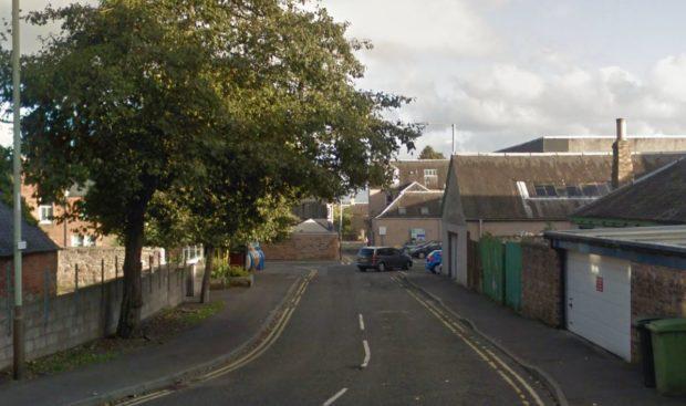Croft Lane, Blairgowrie (stock image)